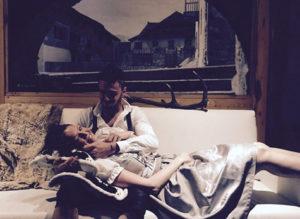 Arianna e Stefano all'Hotel Astoria